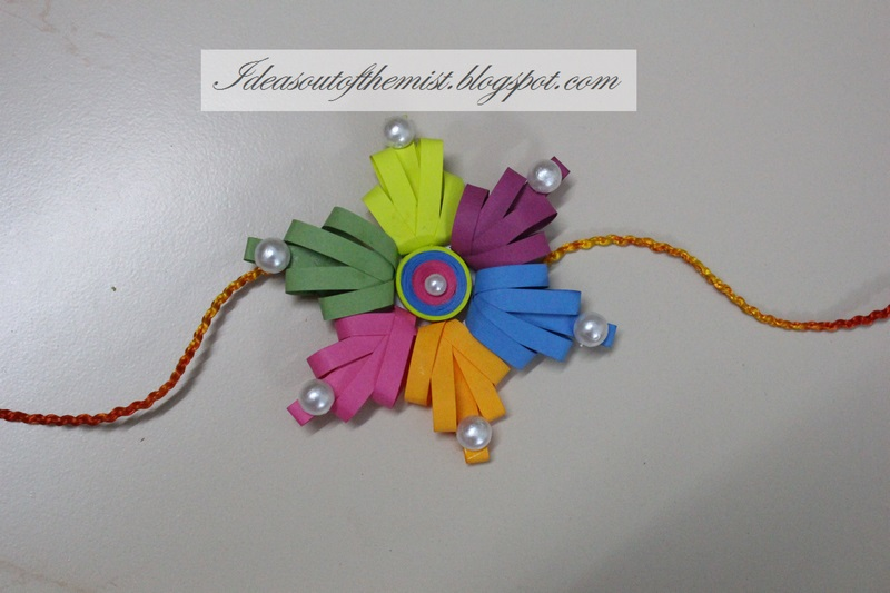 Card Making Ideas For Raksha Bandhan Part - 35: Ideas Out Of The Mist: Ideas For Handmade Rakhi Making Competitions In  Schools
