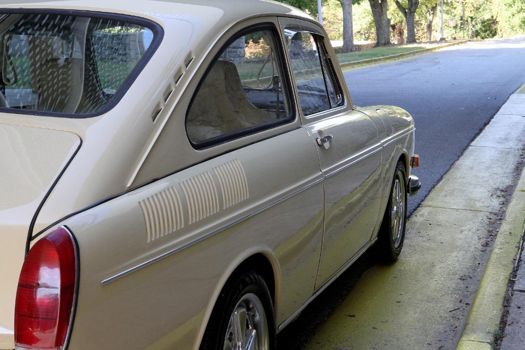 volkswagen type  fastback