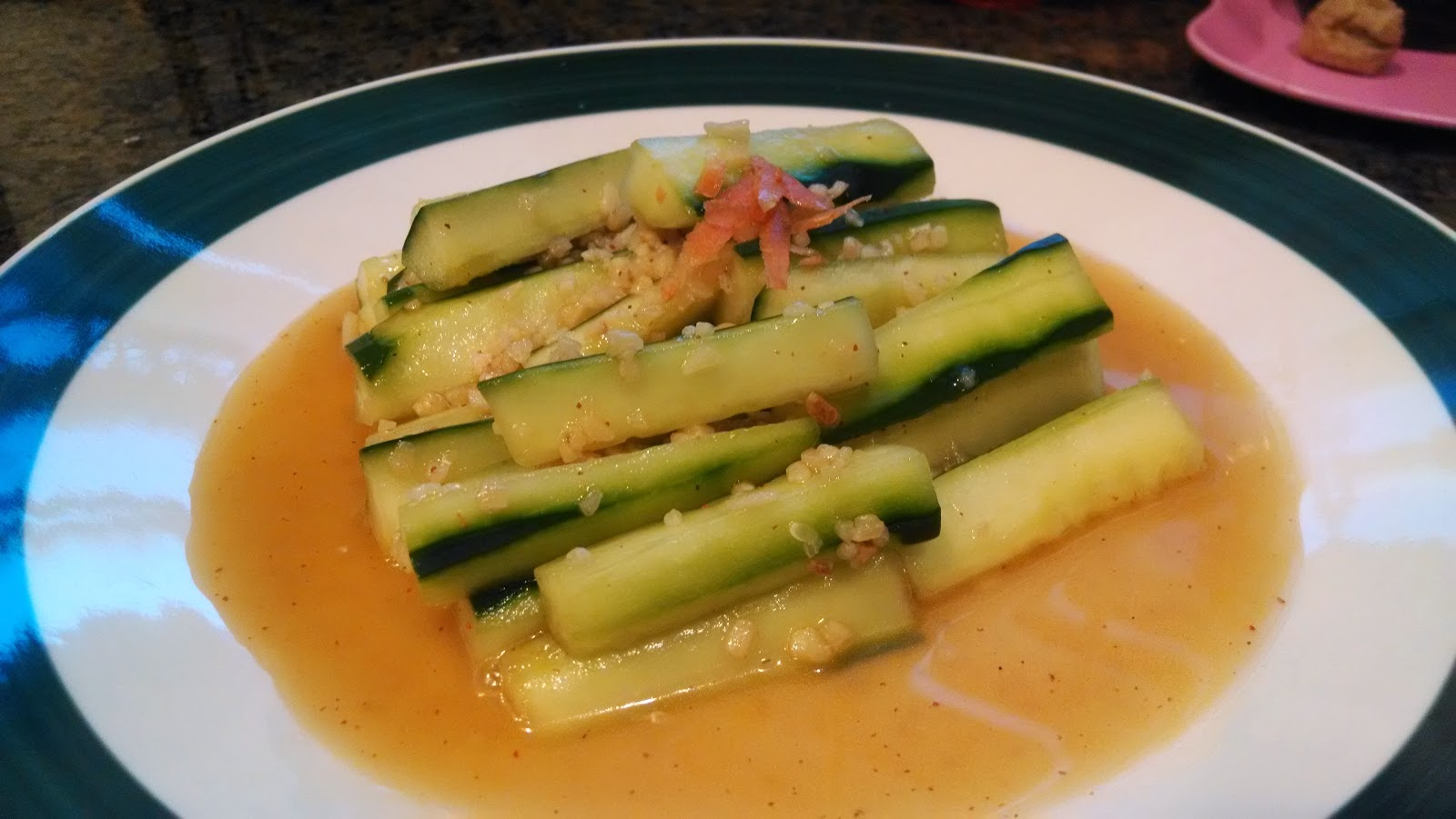 Chinese Sweet and Sour Cucumber Salad Recipe