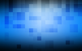 Blue Pixel wallpaper