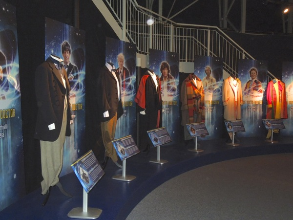 Doctor Who costumes First to Sixth Doctor
