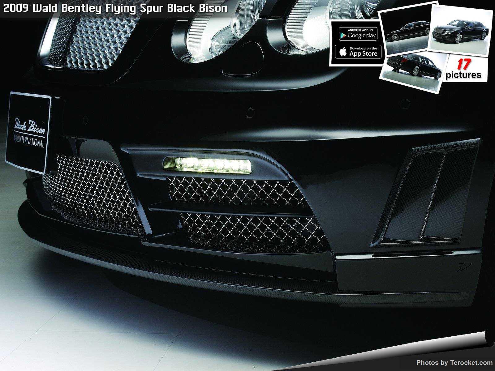 Hình ảnh xe độ Wald Bentley Flying Spur Black Bison 2009 & nội ngoại thất