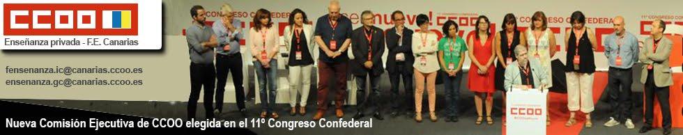 CCOO Enseñanza privada de la FE de Canarias