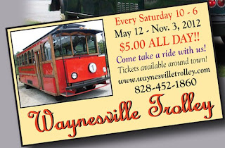 Image of Waynesville Trolley