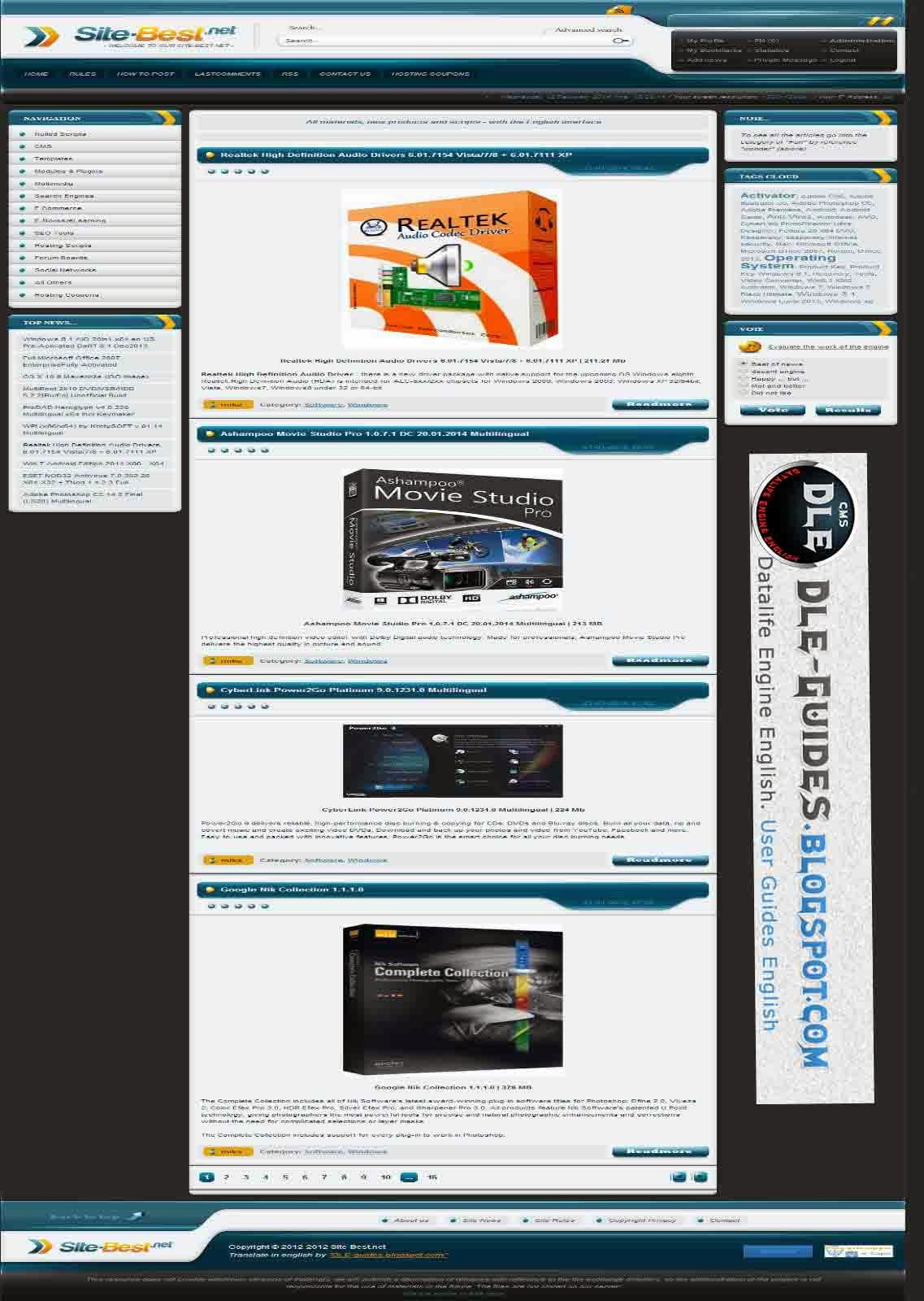 Template Site-Best For DLE 10.1
