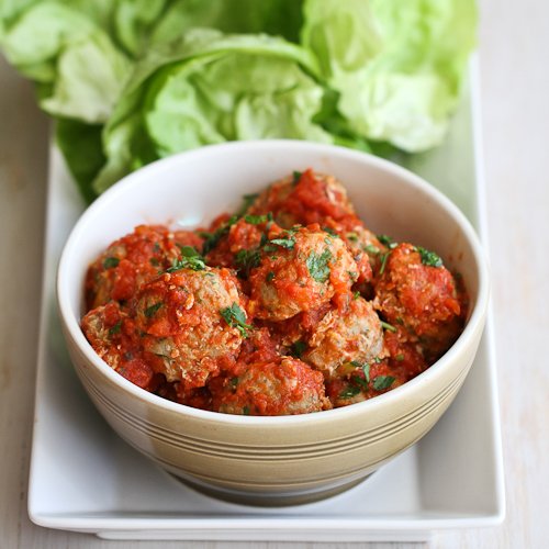 Italian Turkey, Quinoa & Zucchini Meatballs (Adapted from Cookin ...