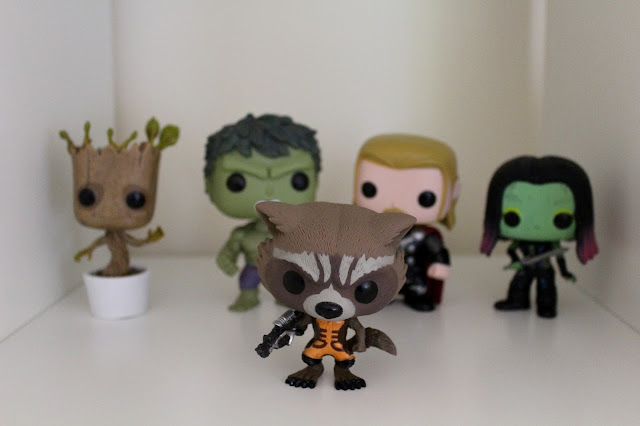 Funko Pop! Vinyl Bobbleheads, Rocket Raccoon, Guardians of the Galaxy