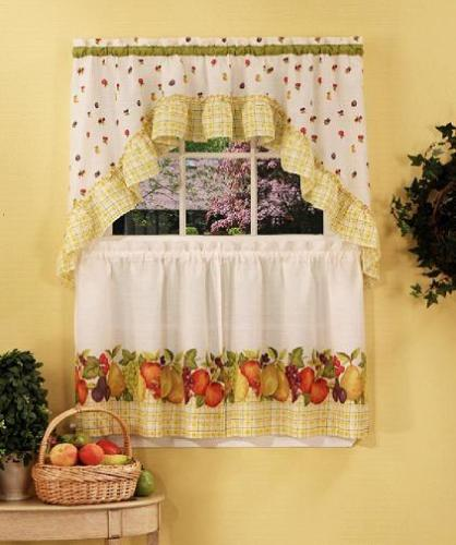 Length and Styles of your Own Kitchen Curtains ~ Curtains Design Needs