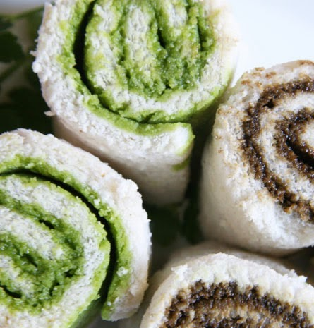Roll Pan de matcha