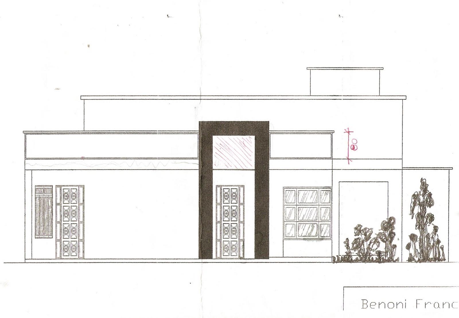 Minha casa em construção: A fachada e a planta baixa da casa #78535F 1600x1109 Banheiro Completo Autocad