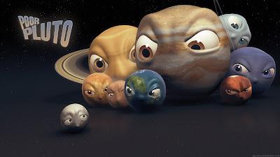Ilustración 'Pobre Plutón'