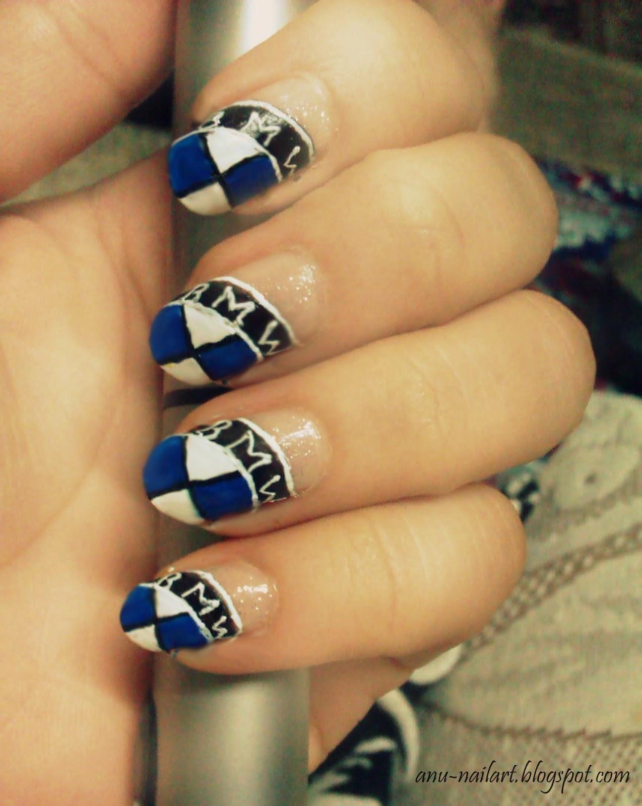Дизайн ногтей с бмв фото