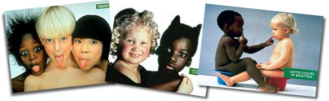 """Coleção de campanhas """"United Colors of Benetton"""""""