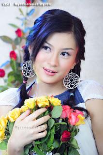 myanmar model Wut Hmone Shwe Yee