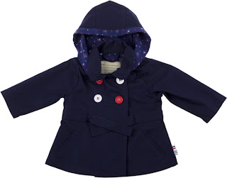 Tuc Tuc Navy Blue Girls Jacket