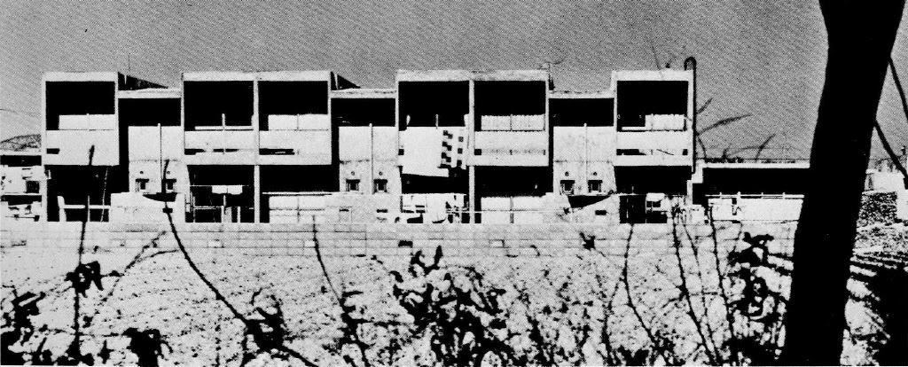 Historia de la arquitectura moderna viviendas pareadas for Historia de la arquitectura moderna