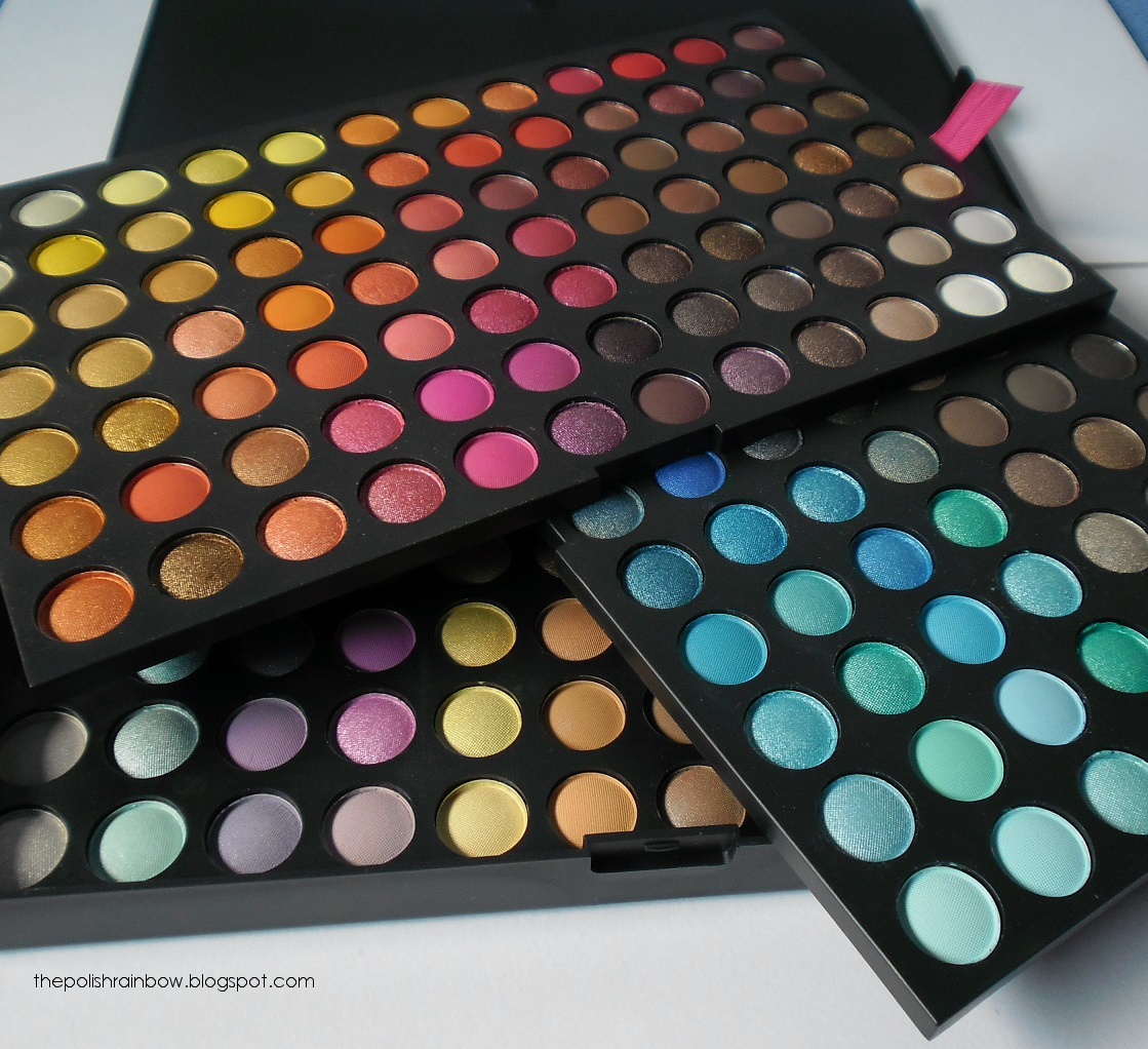the polish rainbow coastal scents 252 ultimate palette