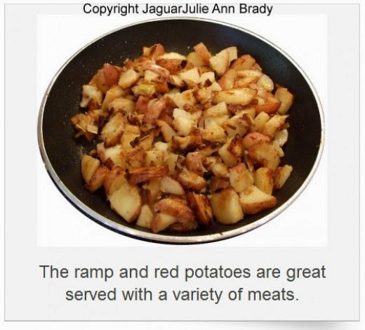 ramp and red potatoes recipe