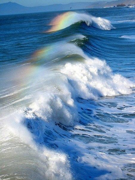 радужная волна