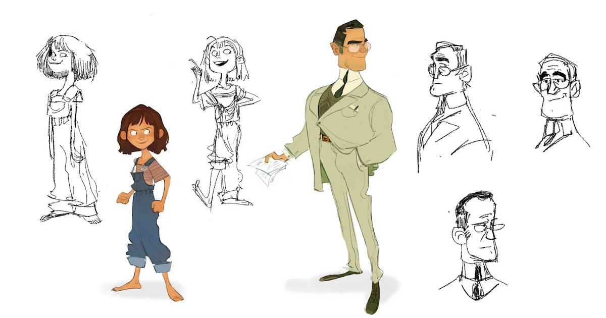 Character Design Internships : Brittany myers art to kill a mockingbird