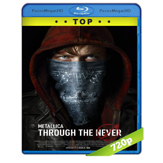 Metallica:Through The Never 2013(2013)BrRip 720p Inglés AC3