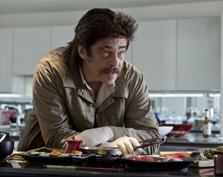 """Benicio del Toro  en """"Salvajes"""" (Savages)"""