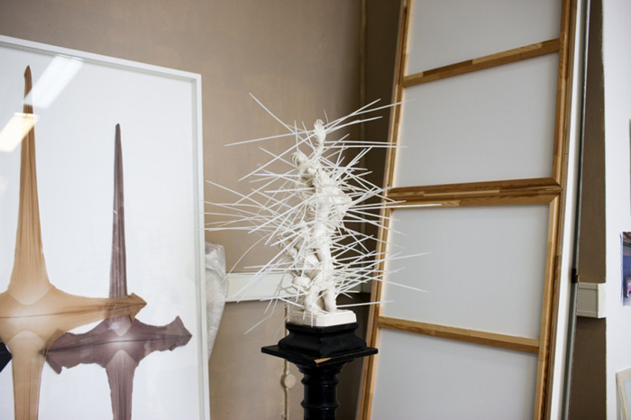 Amie Dicke Amsterdam studio sculputure