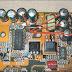 Masalah ELCO Mainboard komputer yang gembung dan pecah menyebabkan komputer blank saat direstart