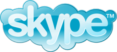 Skype blue logo