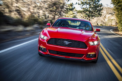 Mustang Gallops Ahead of Competition in 2015 Sales Race