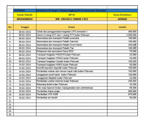 Download Aplikasi Cetak Kuitansi Microsoft Excel