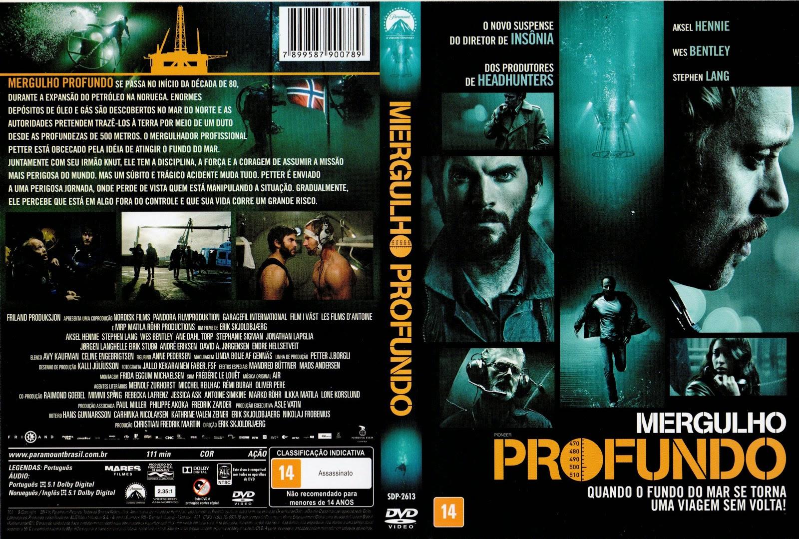 Capa DVD Mergulho Profundo
