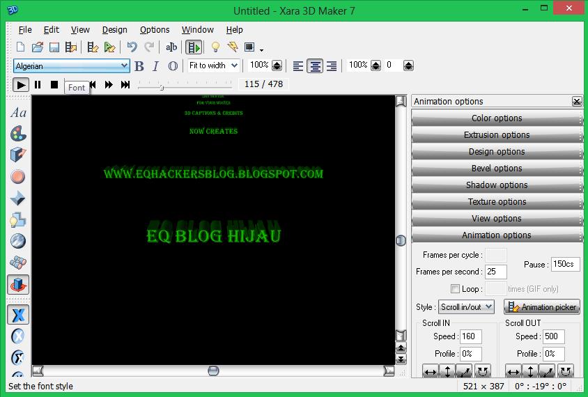 Xara 3d maker v7.0.0.415 incl crack h33t
