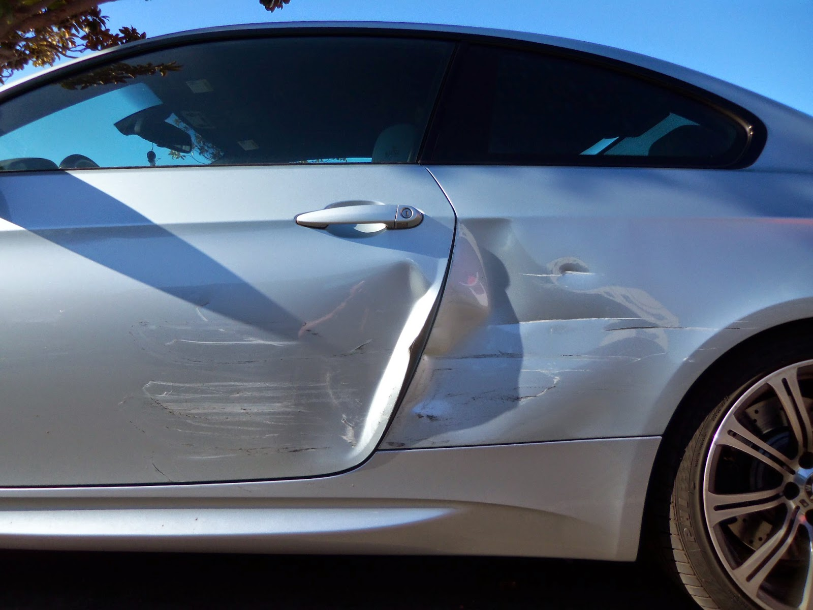 Collision Damage on 2008 BMW M3