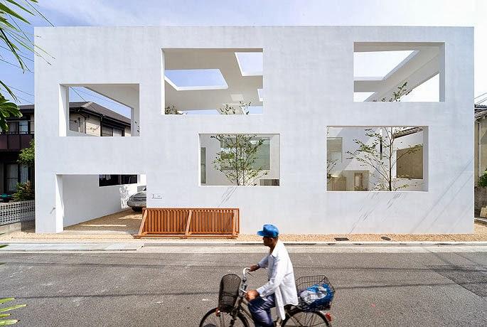 Case giapponesi contemporanee house n sou fujimoto for N house sou fujimoto