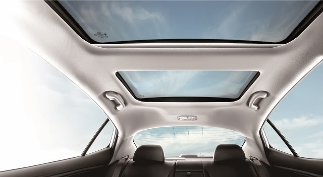 Sunroof for that added luxury and style