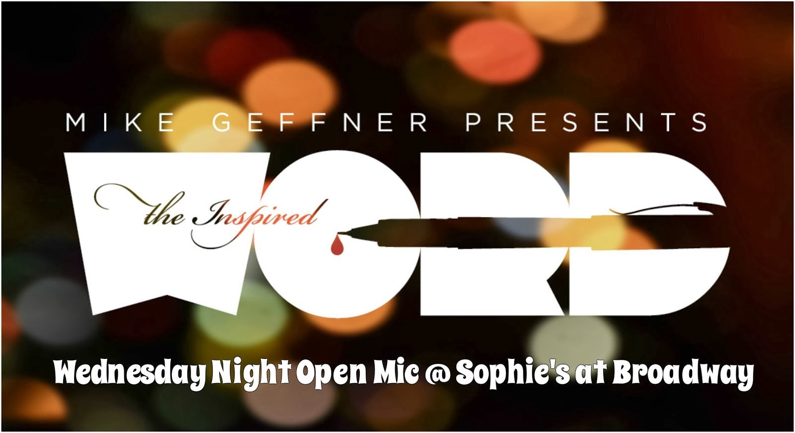 Wednesday Night Open Mic @ Sophie's