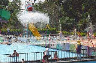 Tempat Wisata Keluarga New Bandungan Indah Waterpark di Semarang
