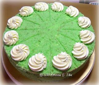 Pandan Macapuno Cake Recipe