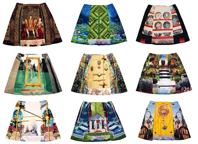 Fabitoria, ASOS, ASOS marketplace,mini-skirts, digital prints, photographic prints, photograph skirt