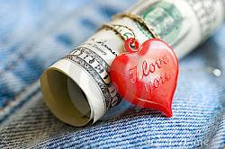 No se paga con dinero las deudas del corazón...