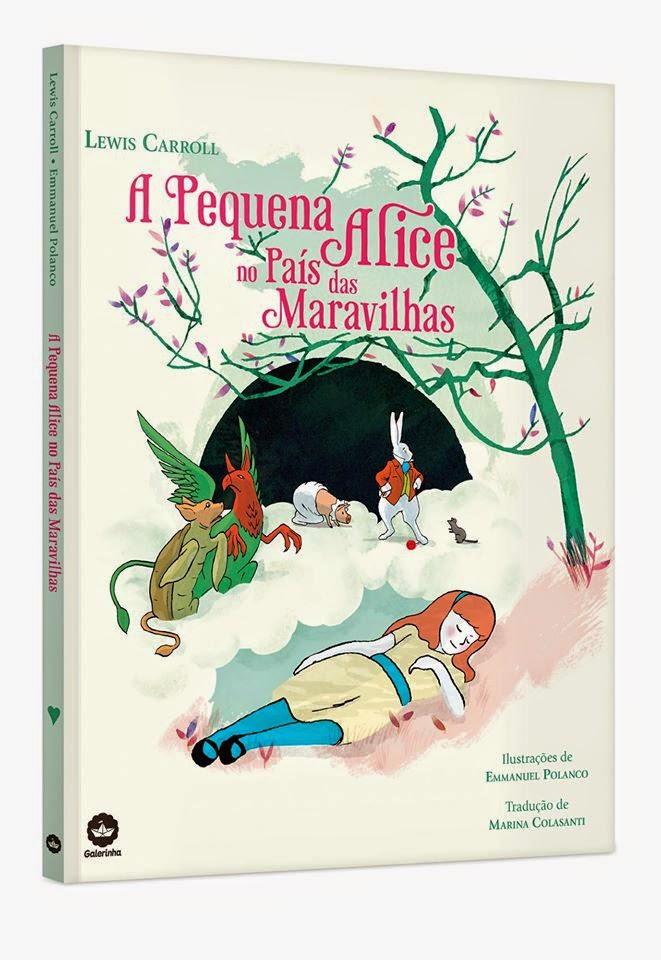 [Novidade] A pequena Alice no país das maravilhas - @galerarecord