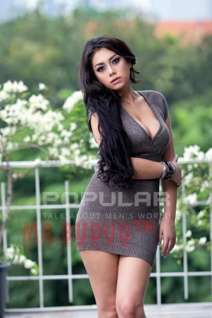 Foto HOT Model Celine Evangelista Di Majalah Dewasa Hot Banget Gan!