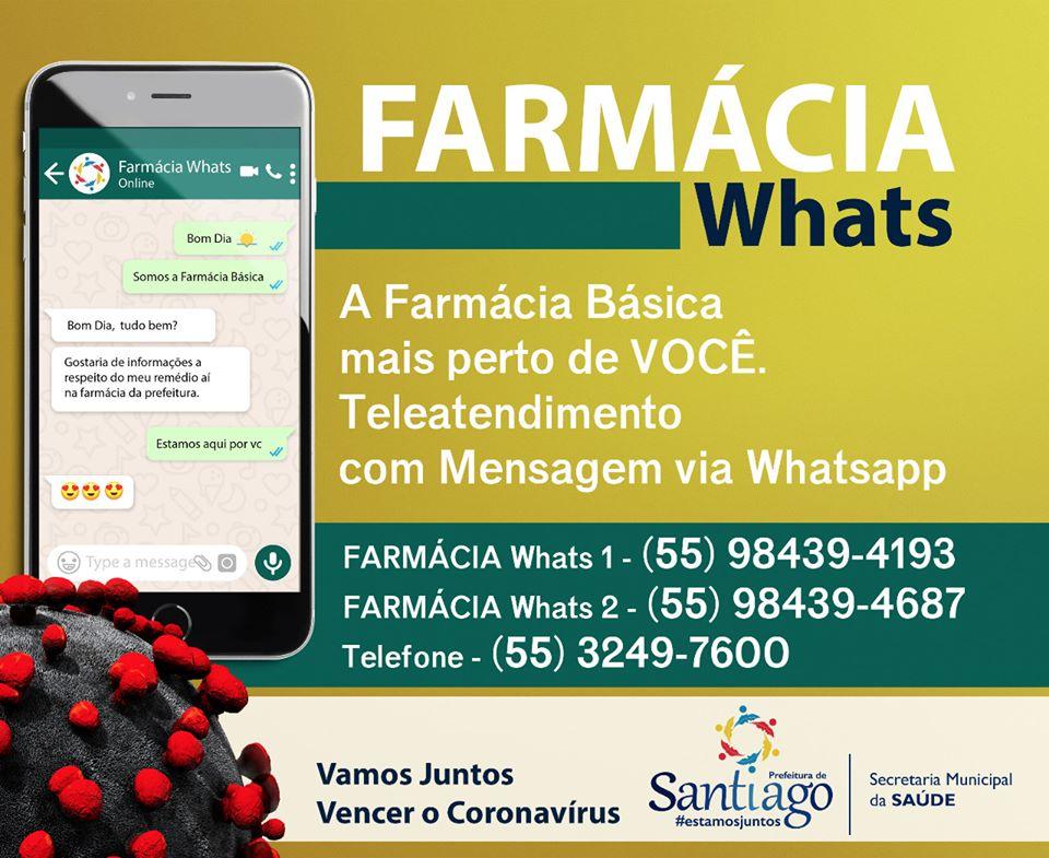 Farmácia Básica por WhatsApp