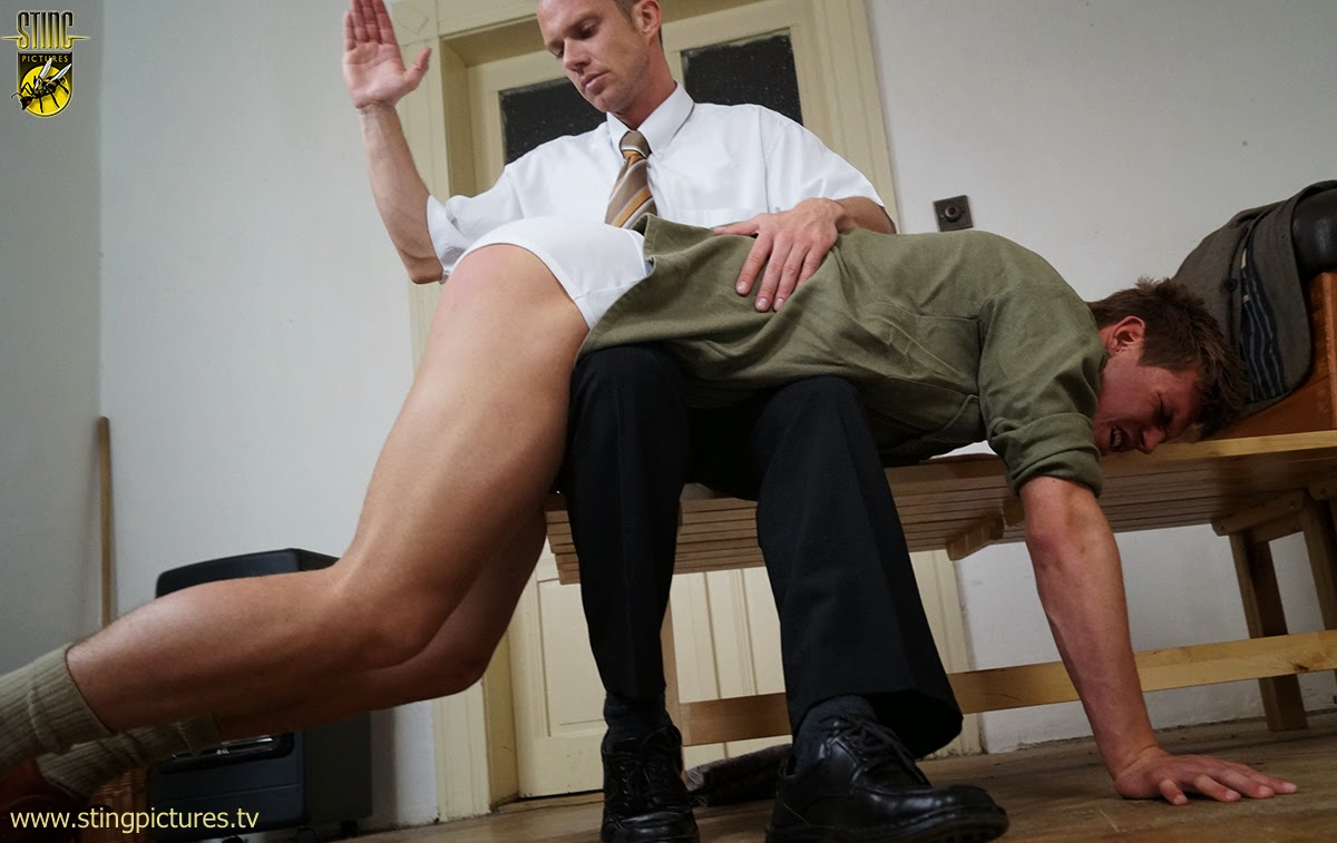 Thats gay bare butt spanking