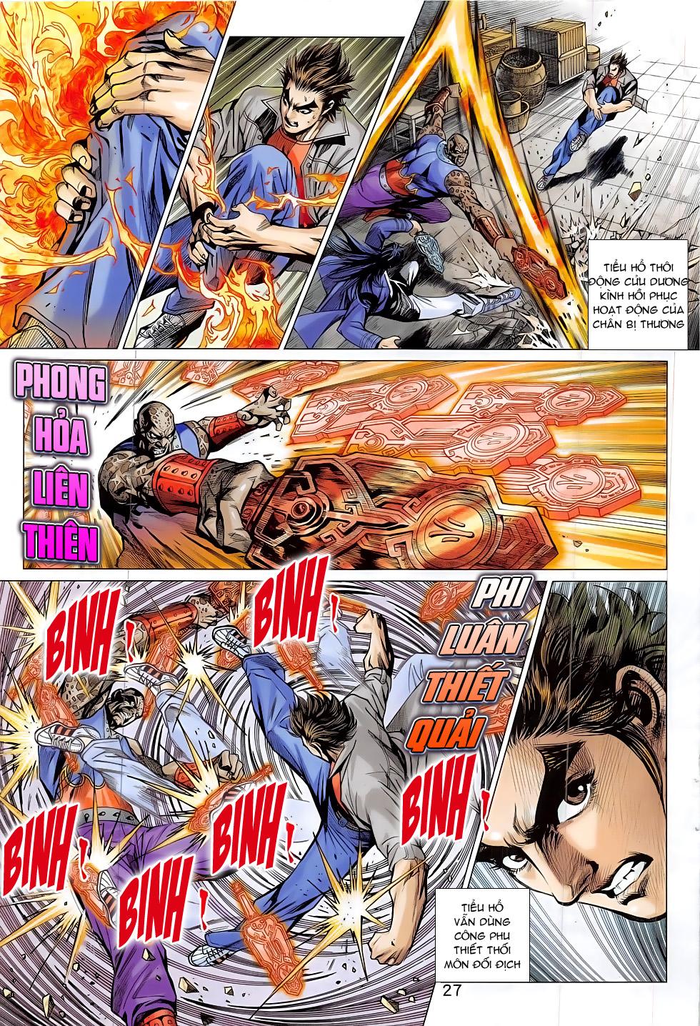 Tân Tác Long Hổ Môn chap 797 Trang 27 - Mangak.info