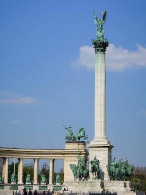 布達佩斯, budapest, 英雄廣場