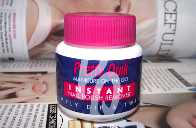 Pretty Quik Instant Nail Polish Remover Review