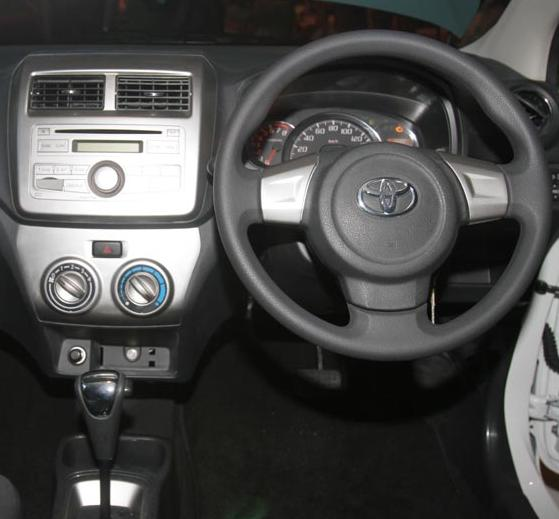 Toyota Agya Interior