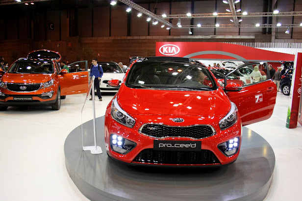 KIA Pro_ceed GT en Salon del Automovil de Madrid 2014